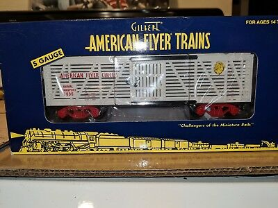 American Flyer S Gauge 6-48380 Circus Stock Car C-9 OB