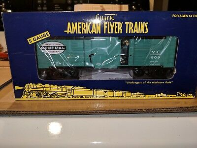 American Flyer S Gauge 6-49048 New York Central Operating Boxcar C-9 OB
