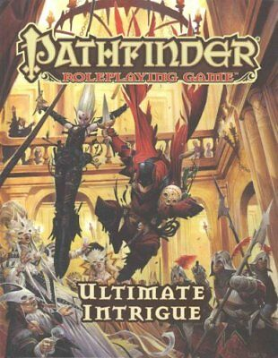 Pathfinder Roleplaying Game: Ultimate Intrigue by Jason Bulmahn 9781601258267