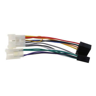 For Toyota,Yaris ISO Stereo Head Unit Harness Adaptor Wiring Loom Lead Cable