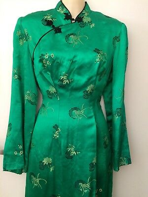 Beautiful VINTAGE Chinese DRESS gown