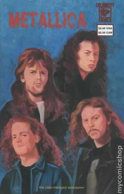 Metallica (Celebrity Comics) #2 1992 FN Stock Image