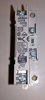Omron G3PB-225B-VD Solid State Relay 240V 25A