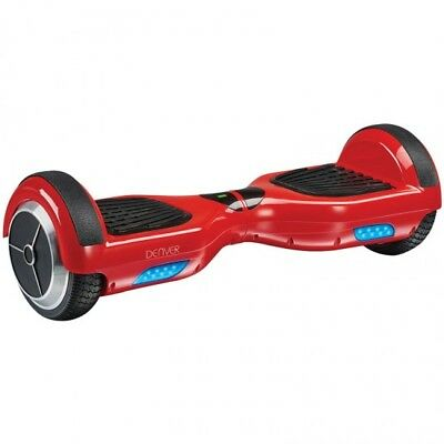 Patin patinete Electrico scooter skateboard hoverboard Denver DBO-6550 RED 6,5