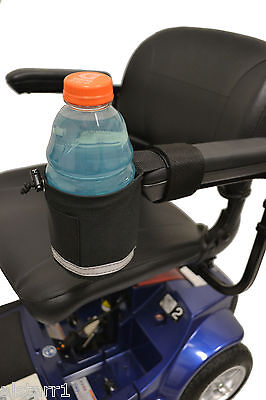 Nonbreakable Cup holders for Power  Wheel Chairs 3 different Grip Mounts