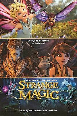 Strange Magic - original DS movie poster - D/S 27x40 - Lucas , Animated