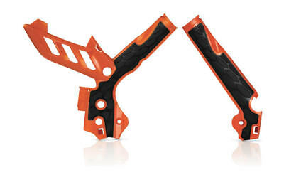 Acerbis X-Grip Frame Guards Orange #2374251008 KTM
