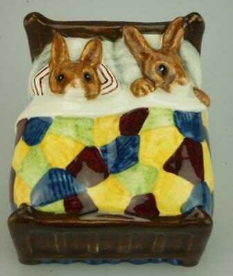 Royal Doulton Bunnykins Sleepytime DB15 Retired English Figurine