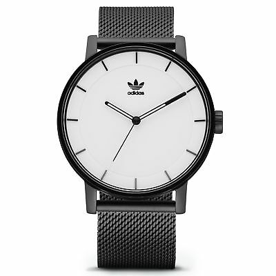 Adidas Originals District M1 Homme Montre - Black / White Une Taille