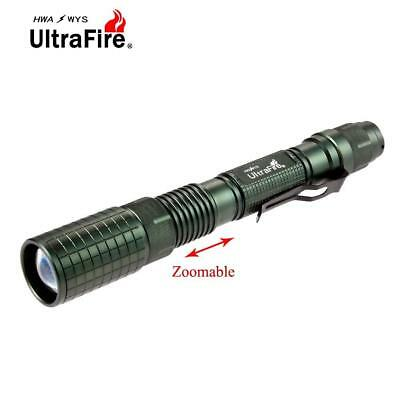 Ultrafire Zoomable  X-XML T6 20000 LM LED Flashlight 18650 Battery Torch