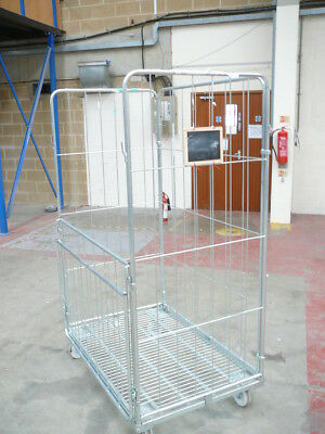 4-SIDED JUMBO ROLL Cages - Roller Containers  Warehouse, Supermarkets