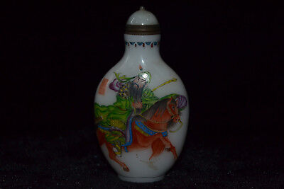 chinese Collectible Vintage old 0-x horn handwork Bloomy Lotus big Statue cup