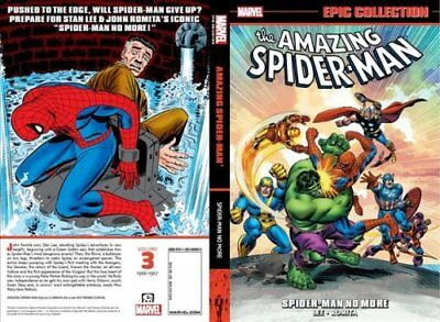 Amazing Spider-man Epic Collection: Spider-man No More by Stan Lee 9781302910235
