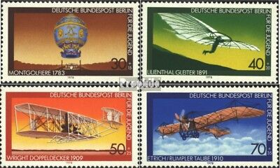 Berlin (West) 563-566 (complete issue) FDC 1978 Youth brands