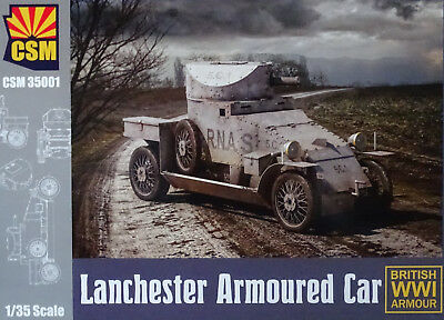 Copper State Models 35001 WWI Lanchester Armoured Car in 1:35