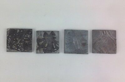 Metal Letterpress Typesetters Print Blocks Border/ Images for Printing Craft
