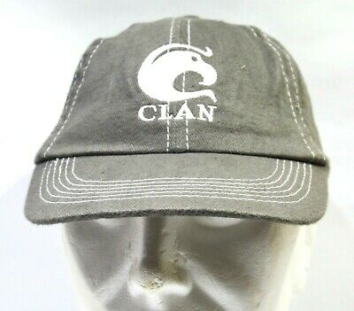 CLAN CAMPBELL Whisky Casquette mixte tissu gris Neuf