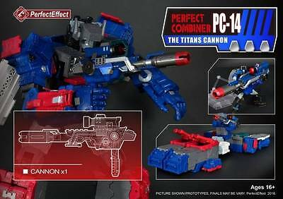 Perfect Effect Pc-14 Upgrade Kit For Combiner War Titans Return Fortress Maximus