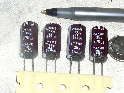 25V 105C ELECTROLITIC CAPACITORS **NEW** 20 pieces NIPPON KMC 22uF