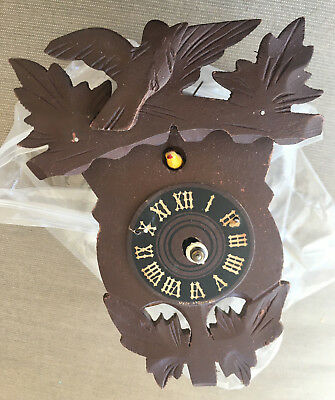 Cuckoo Clock AS IS Antique Use for Parts Repair Face European German ?