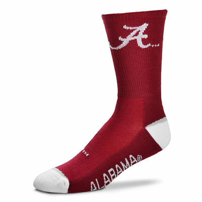 3f612caa557c MEN S FOR BARE Feet Crimson Alabama Crimson Tide Crew Socks -  6.99 ...