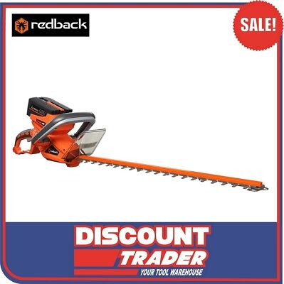 Redback 40V Cordless Hedge Trimmer Rear Swivel Handle (Tool Only) RB-HT - E522D