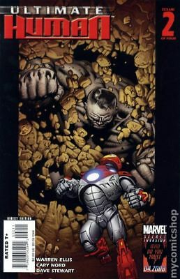 Ultimate Human (Marvel) #2 2008 VF Stock Image