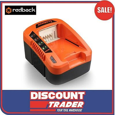 Redback 40V Quick Charge Battery Charger Suits Any Redback Battery RB-CH5A EC50