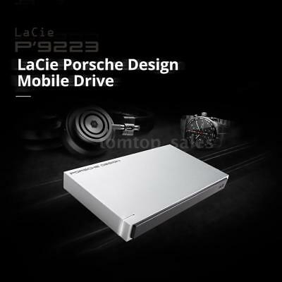 """Lacie STET1000400 1TB 2.5"""" HDD Mobile Hard drive USB3.0 5Gbps for Mac PC E5H7"""