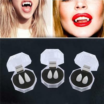 Newly Dentures Zombie Vampire Teeth Ghost Devil Fangs Costume Halloween Party