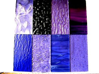8 PUIRPE Stained Glass Hobby Sheets 100mm x 50mm x 3m  Quality Craft Items