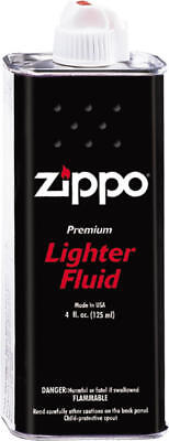Zippo 30049 Lighter Premium Fluid 4 oz. Can (12 Pack) for All Windproof Lighters