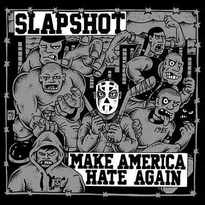 SLAPSHOT - Make America Hate Again  LP  COLOURED