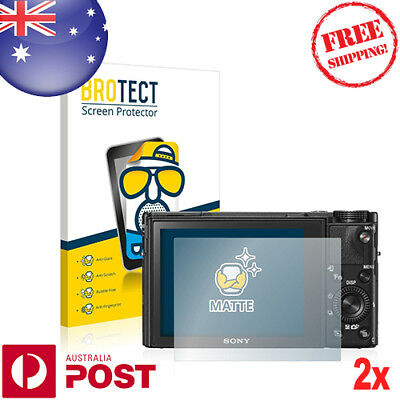 2x BROTECT® Matte Screen Protector for Sony Cyber-Shot DSC-RX100 V - P024AF