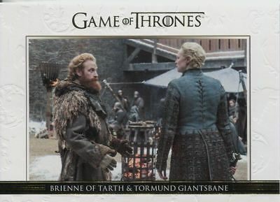Game Of Thrones Season 7 Parallel Relationships Chase Card DL50 Brienne,Tormond