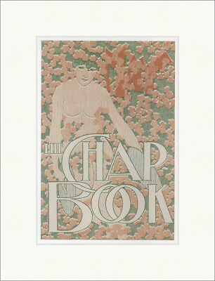 The Chap Book William H. Bradley 1895 Jugendstil Kunstdruck Plakatwelt 919