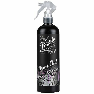 Auto Finesse Car Detailing Iron Out Contaminate Remover / Wheel Cleaner - 500ml
