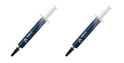 2 x Arctic Cooling MX-2 4g Thermal Paste, Compound for PC XBOX 360 PS3 No Silver