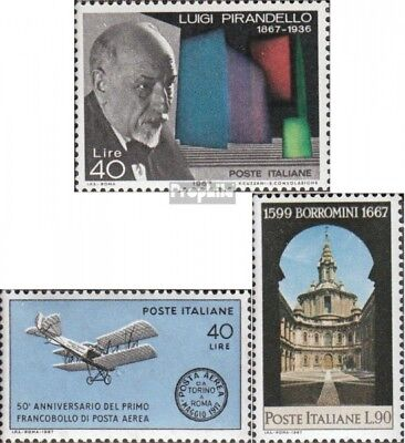 Italy 1234,1239,1240 (complete issue) unmounted mint / never hinged 1967 special
