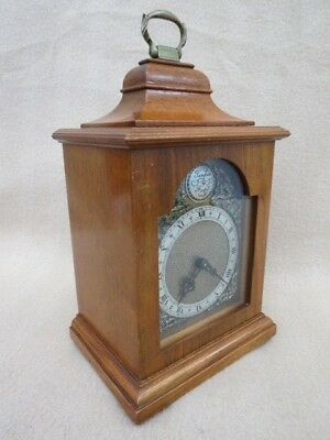 Lovely Vintage Rotherhams 8 Day Miniature Bracket Clock