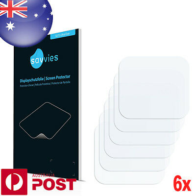 6x Savvies SU75 Screen Protector for GoPro Hero5 Black Lens Back Cover P006B