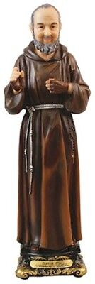 SAINT PIO ( PADRE ) 130cms RESIN STATUE - CRUCIFIXES CANDLES PICTURES LISTED 951