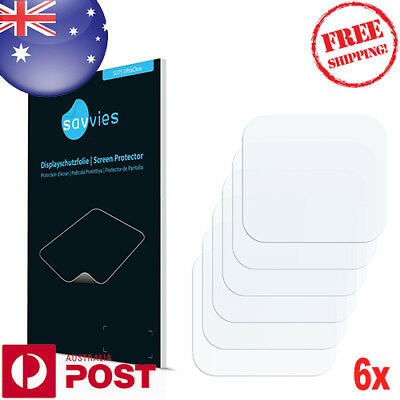 Pack Of 6 x Screen Protector Film for GoPro Hero6 Black (Back) Protector - P002D