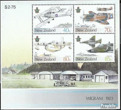 New Zealand block10 (complete issue) unmounted mint / never hinged 1987 Aircraft