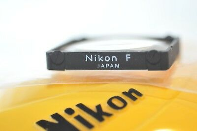Nikon Focusing screen A White letters for early F or F2 35 mm SLR film cameras
