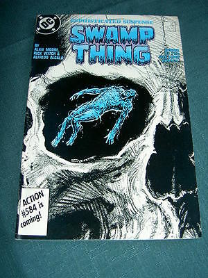SWAMP THING  56. By ALAN MOORE,  RICK VEITCH & ALFREDO ALCALA. DC.1987