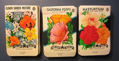 Wholesale Lot of 150 Old Vintage - Flower - SEED PACKETS - 15 Cent - EMPTY 15A
