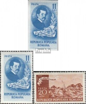 Romania 1201-1204 (complete issue) unmounted mint / never hinged 1950 Ion Andree