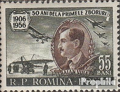 Romania 1583 (complete issue) unmounted mint / never hinged 1956 Traian Vuia