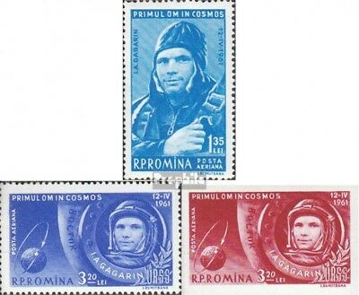 Romania 1962-1964 (complete issue) unmounted mint / never hinged 1961 Spaceship
